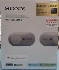 Sony WF-1000XM3 Truly Wireless Noise-Canceling Headphones - Silver.