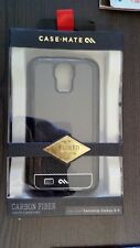 "Case Mate Carbon Fiber Case For Samsung Galaxy S4 ""New"""
