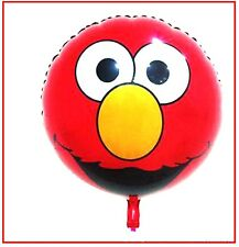 Elmo 45cm Round Foil Balloon, Sesame Street Birthday Party Decoration