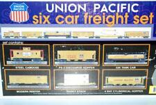 BOX ONLY MTH Trains 30-7005 Union Pacific 6 Car Freight Set Heritage Shield BOX