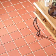 10x10cm Sample of 15x15cm Sima Red Quarry Wall & Floor Tile