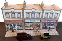 Kingsway, 00 scale, small suburban shops parade  Kit build service.