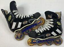 Mission Flow Series Mod 6 Inline Roller Hockey Skates Size 9 D (Us Men 9 Shoe)