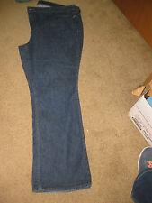 APT.  9  WOMEN'S dark wash stretch  BOOT CUT JEANS  SIZE 24W