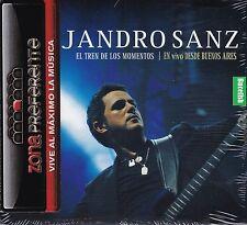 Alejandro Sanz El Tren de Los Momentos En Vivo Desde Buenos Aires CD+DVD CAJA DE