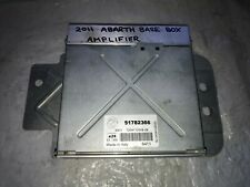 FIAT PUNTO EVO ABARTH MUSIC SYSTEM SPEAKER AMPLIFIER 51782366 GUARANTEED TESTED