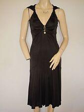 Karen Millen Women's V-Neck Sleeveless Dresses Midi