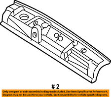 CHRYSLER OEM 01-10 PT Cruiser Rear Body-Panel Below Gate 5017774AB