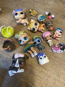 LOL Surprise Dolls Bundle With Pets, Babies Etc