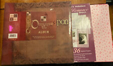 DCWV 12x12 Once Upon A Time Album, Decorative Paper And Wedding Die Cuts