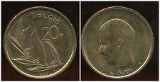 BELGIQUE  20 francs  1982  ( belgie)  ( SPL )