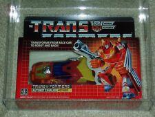 TRANSFORMERS G1 AFA 80/85/90 HOT ROD 1986 SERIES 3 CAR HASBRO MISB SEALED BOX!!