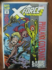 X-FORCE  38. PHALANX COVENANT.  METALIC FOIL ENHANCED COVER. MARVEL. 1994