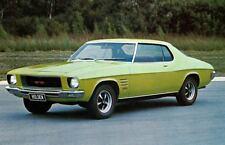 1971 Holden HQ Monaro GTS Factory Photo Australia J5328