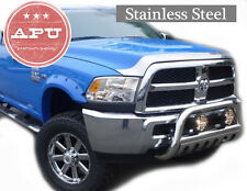 "2011 2012 2013 2014 DODGE RAM 1500 Stainless Bull Bar + 6"" Fog Light Kit"