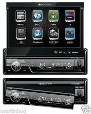 "SOUNDSTREAM VIR-7830B Multimedia Unit w/ 7"" Flip LCD Touch & Bluetooth V2.0"
