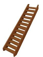 Ezistep Merbau 2 Side Timber 15 Step Stair Kit  Height  2560mm Treads and Screws
