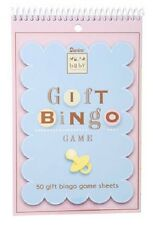 BABY SHOWER Game - GIFT BINGO - 50 Pages