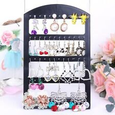 24pairs Earrings Jewelry Show Black Plastic Organisers Display Stand Holder