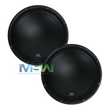 """(2) MTX 3510-02 10"""" 35-Series SINGLE 2-OHM CAR AUDIO STEREO SUBS SUBWOOFERS PAIR"""