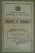 Brazil Document Vaccination 1967