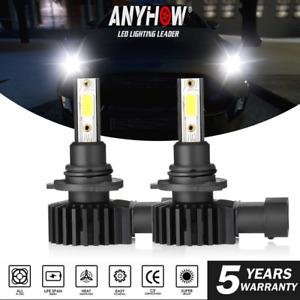 2x ANYHOW 9006 HB4 9012 LED Headlight 6500K White 6000LM Low Beam Fog Light Kit