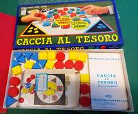 CACCIA AL TESORO EG Gioco da Tavolo in Scatola VINTAGE Editrice Giochi