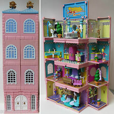 Mini Polly Pocket Deluxe Mansion Dream Builders Stapelvilla Puppenhaus Bluebird