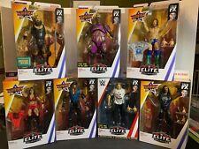 WWE Elite Series 68 Summerslam 7 wrestling figures lot! *See Photos*