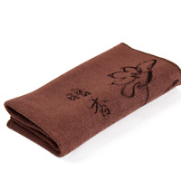 New Deep color cloth Tea towels Coffee color towel Chinese character tea towels