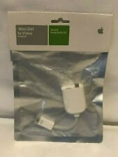 Apple Mini-DVI to Video Adapter / for 12 inch PowerBook G4 M9319G/A