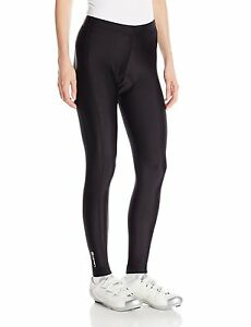 Canari Women's Veloce Pro Bicycle Cycling  Compression Tights Bottoms Black M