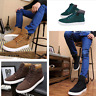 Fashion Mens Oxfords Casual High Top Shoes Leather Shoes Canvas shoes Lot