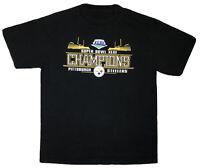 Pittsburgh Steelers Men's L Super Bowl XLIII Champions NFL Black T-shirt 🚚FREE
