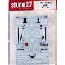 Studio27 DC864 1:12 YAMAHA YZR-M1 Spring test 2011 Decals