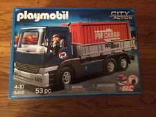 Playmobil 5255 Cargo Truck with Removable Container New in Box!