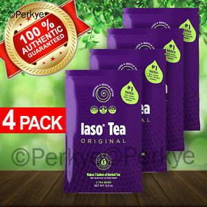 💥💥TLC Iaso Tea_1Month Supply (4Packs)TOTAL LIFE CHANGES_DETOX_Weight Loss
