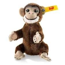 STEIFF 040542 Jocko Schimpanse 10cm Affe braun Miniatur