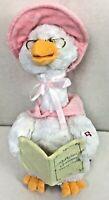 Cuddle Barn Mother Goose Animated Talking Singing Plush Pink Baby Shower Prop