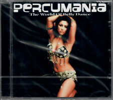 PERCUMANIA The World of Belly Dance Exotica Percussion Beats Bellydance Music CD