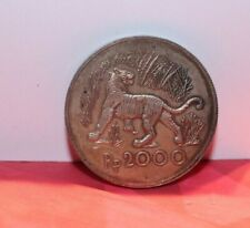 Bank of Indonesia 1974 RP2000 Silver (50%) Tiger