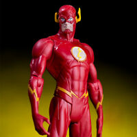 DC Comic Book Hero Justice League The Flash Action Figure Toy Gift