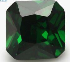 Natural Green Emerald 3.06ct 8x8mm Square Emerald Faceted Cut VVS Loose Gemstone