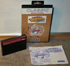 DESERT SPEEDTRAP starring Road Runner & Coyote SEGA MASTER SYSTEM Classic >OVP<