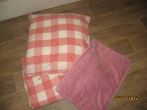 1x Ikea Bettwäsche Smörboll pink rosa140x200