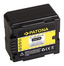 ORIGINALE VHBW BATTERIA con INFO CHIP per Panasonic hdc-sd9 sd-9