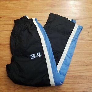 Boys Shaq Sweat Pants Lined Size M 14/16 Ankle Zip