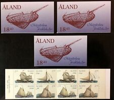 Aland #112a 4 Complete Booklets 1995 MNH