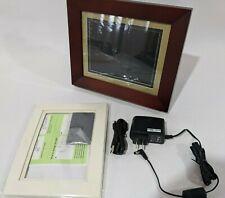 "HP 8"" Digital Picture Frame 512MB Internal Memory df820a2 - W/Black Frame"