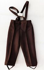Vintage baby Pantalon avec sangles Inutilisé âge 1 an garçon fille vêtements 1960 S 1970 S